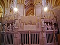 Chartres Cathédrale Notre-Dame de Chartres Innen Chorschranke 10.jpg