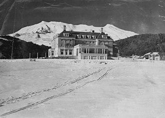 Chateau Tongariro - Winter 1950s
