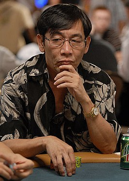 Giang op de World Series of Poker 2008