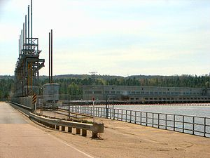 Portage-du-Fort, Quebec - Image: Chenaux Station