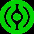 Cheondoism symbol dark green.PNG