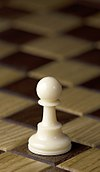 Chess piece - White pawn.JPG