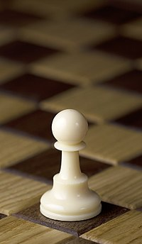 Chess piece - White pawn.JPG