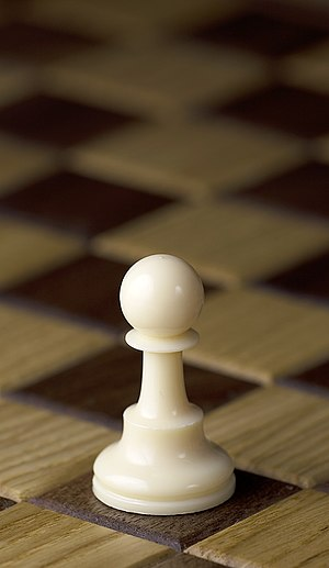 Pawn (chess) - White pawn