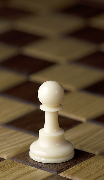 Gambar:Chess piece - White pawn.JPG