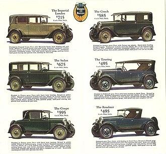 Car model - Chevrolet models sold in 1928