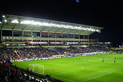A home game at Toyota Park during 2007 season