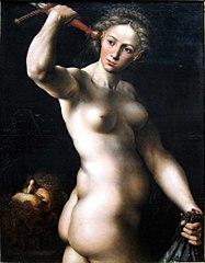 Judith avec la tête de Holopherne