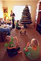 Children in Family Room with New Holiday Christmas Tree - Photo by D. Sharon Pruitt.jpg