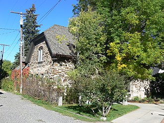 National Register of Historic Places listings in Lewis and Clark County, Montana - Image: Childs carriage house