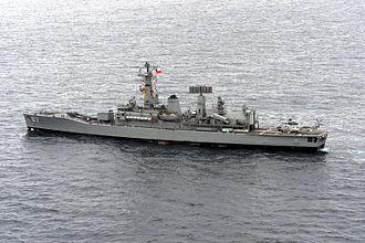 Chilean frigate Almirante Lynch (PFG-07) - Image: Chilean frigate Almirante Lynch