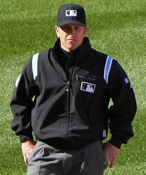 Chris Guccione (umpire) - Guccione in 2012
