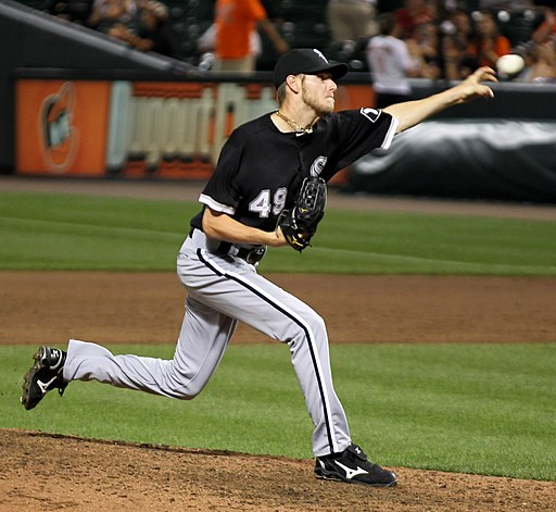 Chris Sale on August 9, 2011