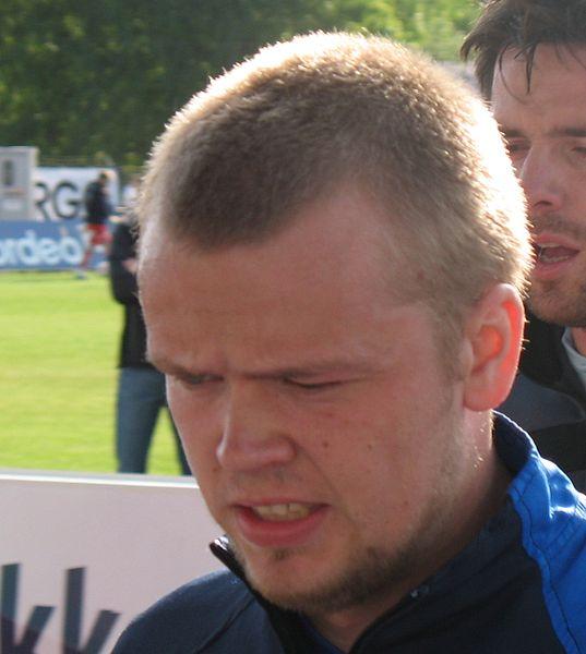 Christian Grindheim debuteerde maandagavond bij de beloftes in het shirt van SC Heerenveen
