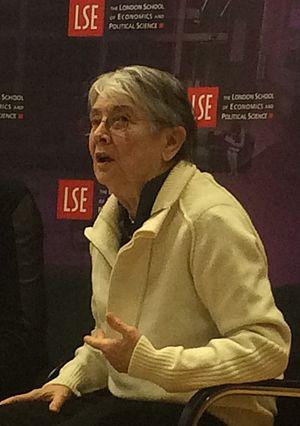 Christine Delphy - Christine Delphy at LSE, February 2016