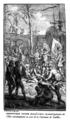Christophe Colomb descend à terre et prend possession de la Isle Guanahani ou nom de la Courronne de Castille.png