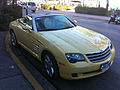 Chrysler Crossfire roadster yellow FL front.jpg