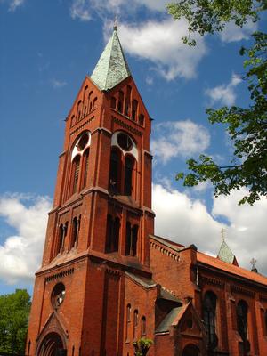 Chernyakhovsk - Mikhaylovsky Cathedral in Chernyakhovsk
