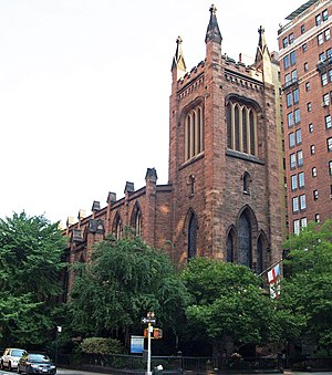 Church of the Ascension, Episcopal (Manhattan) - Image: Church of the Ascension by David Shankbone crop