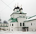 Church of the Dormition of the Theotokos in Alexandrov 02 (winter 2014) by shakko.JPG
