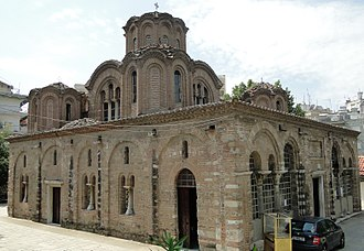 Church of the Holy Apostles (Thessaloniki) - The Church of the Holy Apostles