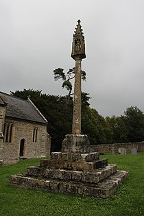 Churchyard Cross In Churchyard Approximately 10 Metres South Of Nave, Church Of St Gregory.JPG
