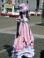 Ciel Phantomhive in pink dress cosplayer at 2010 NCCBF 2010-04-18 3.JPG