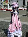 Ciel Phantomhive in pink dress cosplayer at 2010 NCCBF 2010-04-18 3.JPG