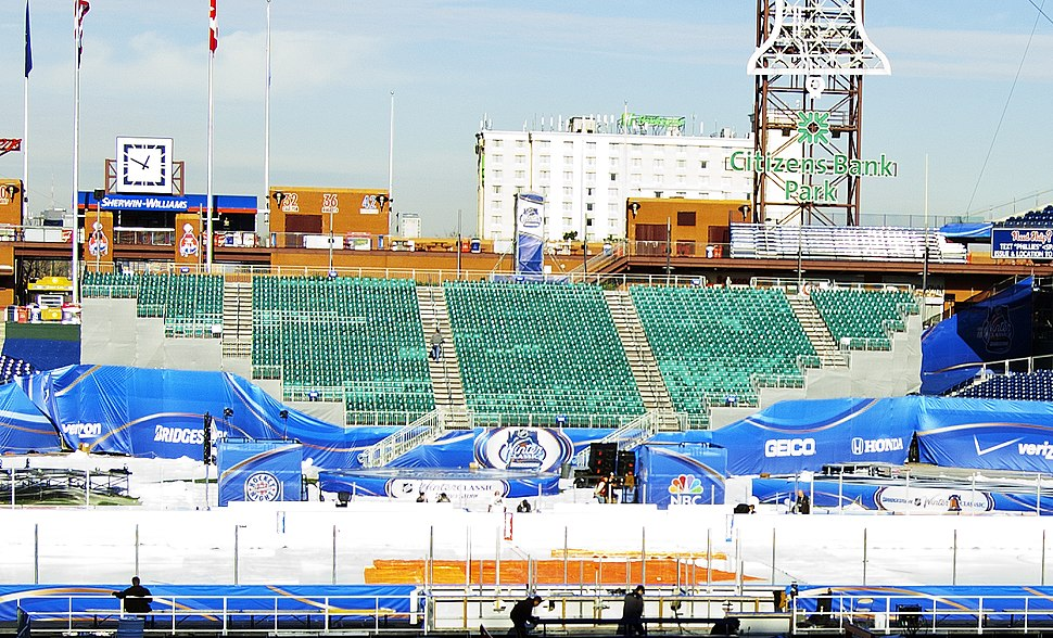 Citizens Bank Park Temporary Seating (2012 NHL Winter Classic)
