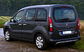 Citroën Berlingo Multispace HDi 90 Selection (II, Facelift) – Heckansicht, 29. Juli 2014, Wülfrath.jpg