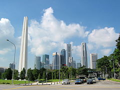 City Skyline, War Memorial Park, Singapore (3337588640).jpg