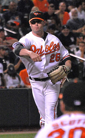 Cla Meredith - Meredith with the Baltimore Orioles in 2009