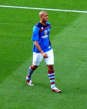 Clarke Carlisle - Carlisle training with Burnley in 2009