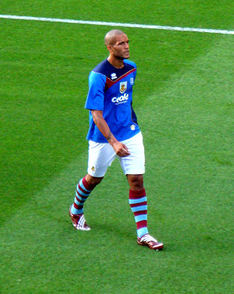 Clarke Carlisle - Carlisle training with Burnley in 2009