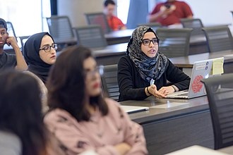Northwestern University in Qatar - Class at Northwestern University in Qatar