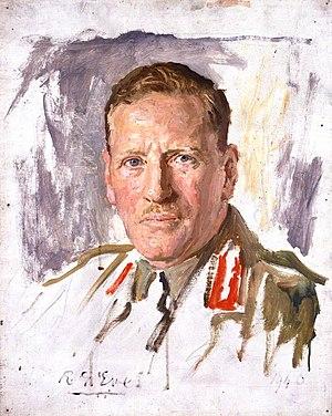Claude Auchinleck - A 1940 portrait of Auchinleck by Reginald Grenville Eves.