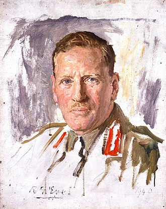 Claude Auchinleck - A 1940 portrait of Auchinleck by Reginald Grenville Eves.