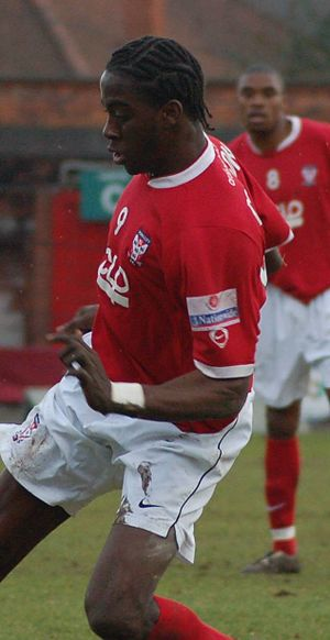 Clayton Donaldson - Donaldson playing for York City in 2007