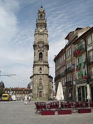 Nicolau Nasoni - Tower of Clérigos Church