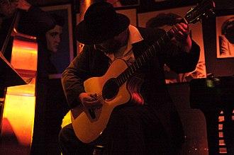Baritone guitar - Image: Clifton Hyde Mustapick Baritone