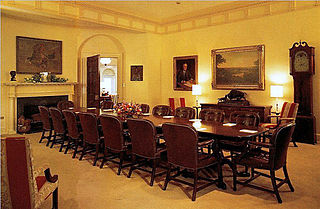 Roosevelt Room meeting room in the West Wing of the White House