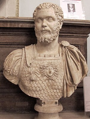 Clodius Albinus - Bust in the Capitoline Museums in Rome