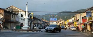 Main street of Balik Pulau