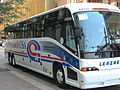 Coach USA bus in downtown Pittsburgh 02.JPG