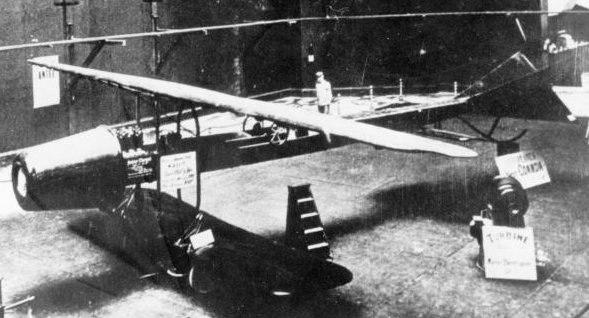 Coanda aircraft at 1910 Paris salon