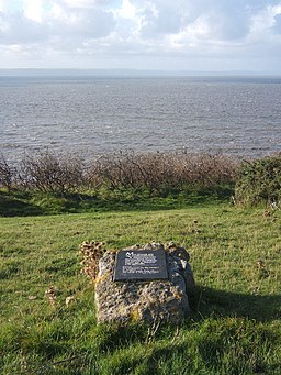 Coastal viewpoint at site of plaque on a rock - geograph.org.uk - 1019465