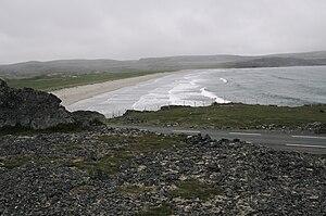 Båtsfjord - Landscape in eastern Båtsfjord