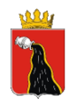 Coat of Arms of Chernushka (Perm krai) (2008).png