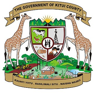 Kitui County - Image: Coat of Arms of Kitui County