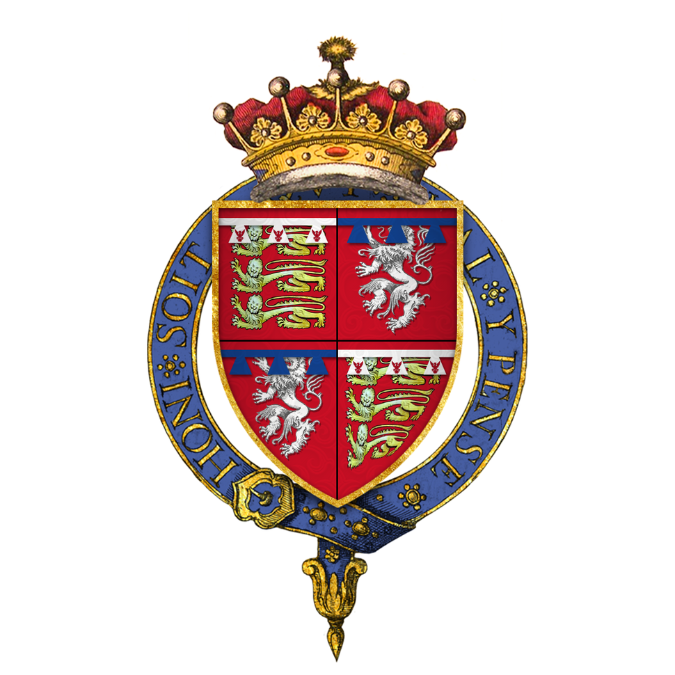 Coat of Arms of Sir Thomas Mowbray, 1st Earl of Nottingham, KG